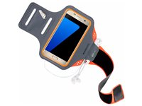 Mobiparts Comfort Fit Bracelet De Sport Samsung Galaxy S7 Orange