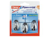 Crochet Tesa 'Powerstrips' Small Ovale