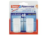 Crochets Tesa 'Powerstrips' Large Blanc d'occasion