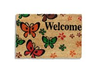Paillasson 'Welcome Butterfly' Multicolore 40 X 60 Cm