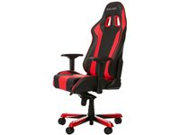 DX Racer KING Gaming Chair Noir/Rouge