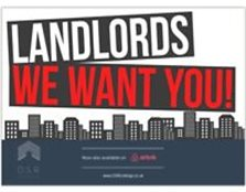 Landlords wanted Edinburgh & Lothians