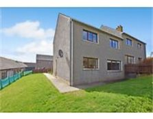 Semi detatched house and double Garage in Shetland