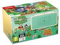 NINTENDO New 2DS XL Blanc & Turquoise + Animal Crossing (2209966)