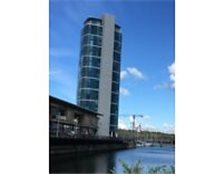 Luxury two bedroom apartment in the iconic Marina Point West Tower, Chatham Maritime
