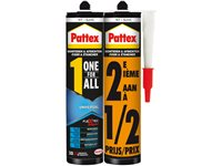 Colle De Montage Pattex 'One For All Universal' Blanc 390G - 2 Pcs