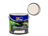 Peinture Murale Levis 'Ambiance' Extra Mat Blanc Coquille 5L