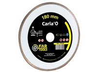 Disque Diamant Alésage Far Tools 'Carla'o HQ Cobalt' 18 Cm
