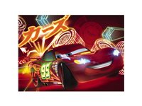 Sticker Komar 'Cars Neon' 254 X 184 Cm