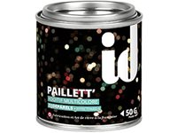 Additif Peinture ID 'Paillett' Multicolor Satin 50Gr