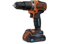 Perceuse-Visseuse À Percussion Black + Decker 'BDCHD18' 18V