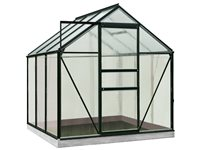 Serre ACD 'Intro Grow Daisy' Polycarbonate & Aluminium Noir 3,8 M², occasion d'occasion
