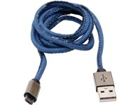 Câble Micro USB Kopp 1 M Jeans, occasion d'occasion