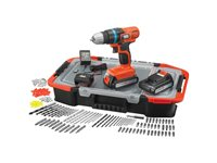 Perceuse-Visseuse  Black + Decker 'EGBL18BAST-QW' 2 X 18V