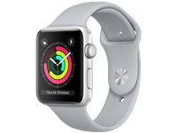 APPLE Watch Series 3 - Boîtier Aluminium 42Mm Silver - Bracelet Sport Fog