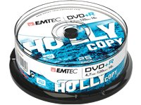 EMTEC Pack 25 DVD+R 4.7GB 16 X Cakebox