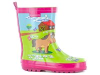 Occasion, Bottes Blackfox 'Ranch Poney' Rose Pointure 30 d'occasion