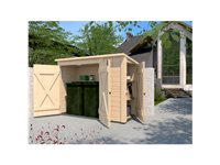 Armoire De Jardin Weka 'Multibox 367' Brun 215 X 152 Cm d'occasion