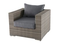 Fauteuil De Jardin Central Park 'Julieta' Wicker Brun