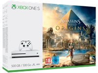 MICROSOFT Xbox One S 500 GB + Assassin's Creed Origins