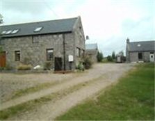 Farmhouse 3/4 beds and 2 bed steading conversion set in approx 20 acres.