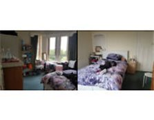 Bright spacious Double-Bedroom with view of Arthur's seat and Close to King's Buildings Blackford