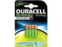Occasion, Pile Rechargeable Duracell 'AAA - LR03' 1,2 V - 4 Pcs d'occasion