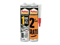 Colle De Montage Pattex 'One For All Duo Crystal' 290 + 90G -2 Pcs