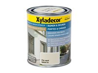 Lasure Portes Et Chassis Xyladecor Opaque Sable Fin 750Ml, occasion d'occasion