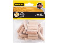 Tourillons Stanley 'STA66434-QZ' 40 X 10 Mm - 30 Pcs