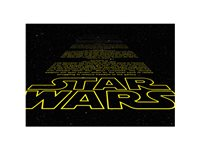 Papier Peint Photo 'Star Wars Intro' d'occasion