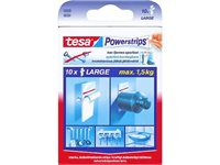 Tape Double Face Tesa 'Powerstrips' Large Blanc - 10 Pcs d'occasion