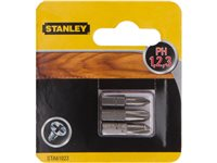 Embout Stanley 'Ph1, 2, 3' 25 Mm - 3 Pcs, occasion d'occasion