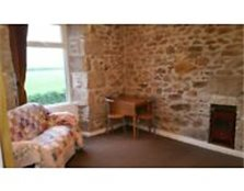 Bright 1 bed flat with lovely rural views towards coast for rent near Redruth, Cornwall