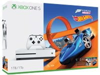 MICROSOFT Xbox One S 1 TB + Forza Horizon 3 + Hot Wheels