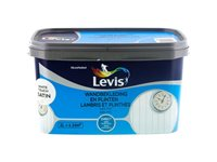 Peinture Levis 'Lambris Et Plinthes' White Touch Satin 2L