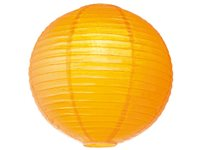 Abat-Jour Home Sweet Home 'Lampion' Orange Ø 40 Cm
