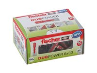 Cheville Universelle Fischer 'Duopower' 30 X 6 Mm - 100 Pcs, occasion d'occasion