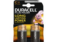 Pile Alcaline Plus Power Duracell 'C' 1,5 V - 2 Pcs