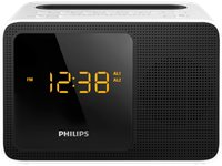 PHILIPS Radio Réveil Bluetooth Avec Docking Station (AJT5300W/12)