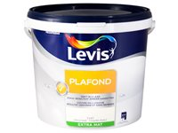 Peinture Plafond Levis Coquille D'oeuf Extra Mat 10L