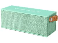 FRESH N REBEL Enceinte Portable Rockbox Brick Fabric Peppermint (1RB3000PT)