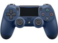 PLAYSTATION Manette Sans Fil PS4 Dualshock 4 V2 Midnight Blue (9874263)