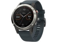 GARMIN Montre Sport GPS Fenix 5 47 Mm Granite Blue (010-01688-01)