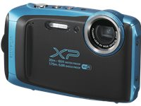 FUJI Appareil Photo Compact Finepix XP130 Sky Blue (D10314-SBL)