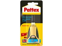Occasion, Colle Uni-Rapide Pattex 'Gold Gel' 3G d'occasion