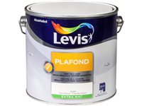 Peinture Plafond Levis Coquille D'oeuf Extra Mat 2,5L