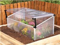 Serre Mini Cold Frame Single 100X60x40 Cm