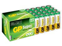 Value Pack Super Alkaline AA (40 Pièces)