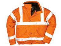 Bomber Jacket S Orange